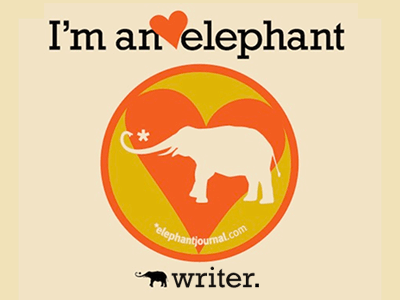 Elephant journal writer